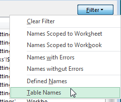 Table_Name_Filter