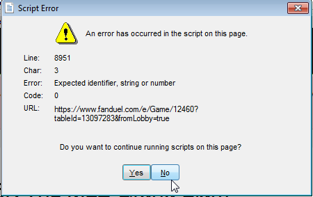 Script_Error_Web_Query