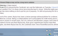 Why I'm Not Buying Trevor Rosenthal (and Bought Mujica)