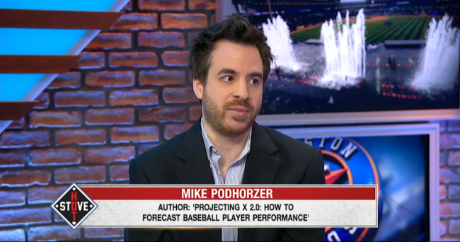 Click image to see the full video of Mike's appearance.